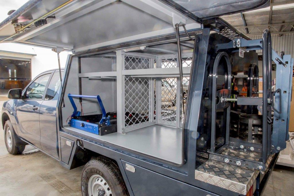 New 2 Door tradie ute canopy made to custom design in Perth
