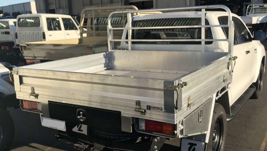 Custom Heavy Duty Aluminium Ute Tray Perth (1)