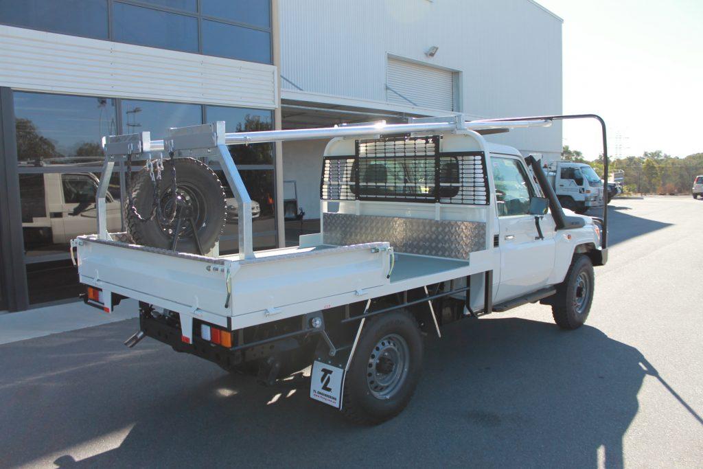 Mining exploration drilling rig custom made in Perth WA.