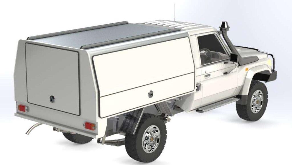 New 3 Door ute canopy sales Perth