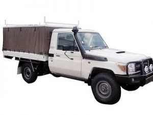 Ute Canopy - Steel Frame with Canvas