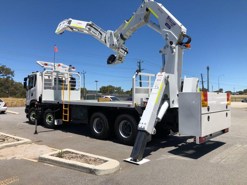 FMG Tyre Handler Perth
