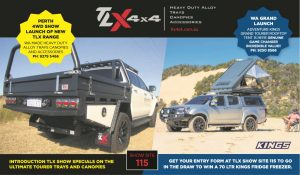 TLX 4×4 Launch Perth 4WD Show