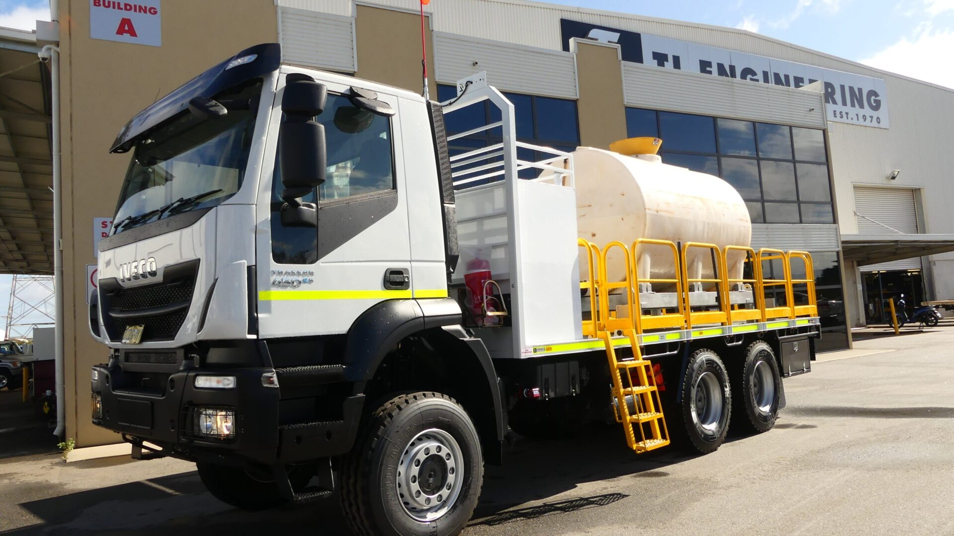 Custom made mining exploration drilling Service Truck for sale Perth WA