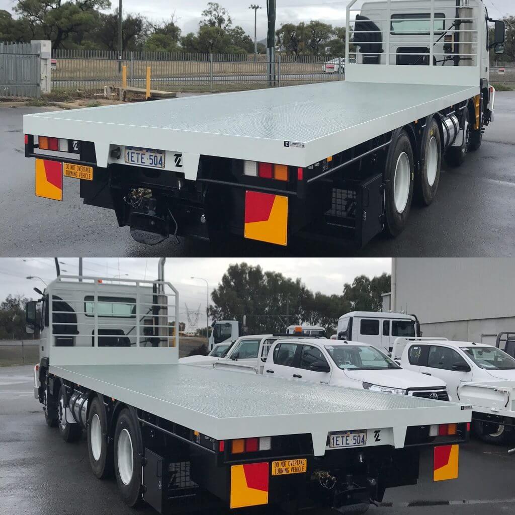 Flat truck trays Perth