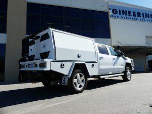 2 Door Canopy for USA Truck – Silverado