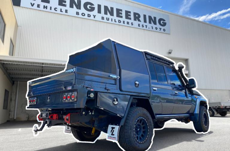 Toyota Landcruiser Canopy Build TL Engineering Perth 2021