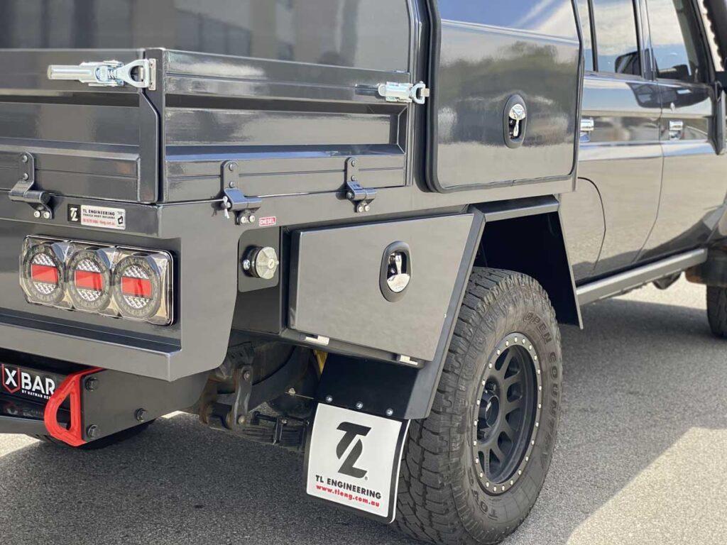 Toyota Landcruiser VDJ79 custom canopy build TL Engineering Perth WA