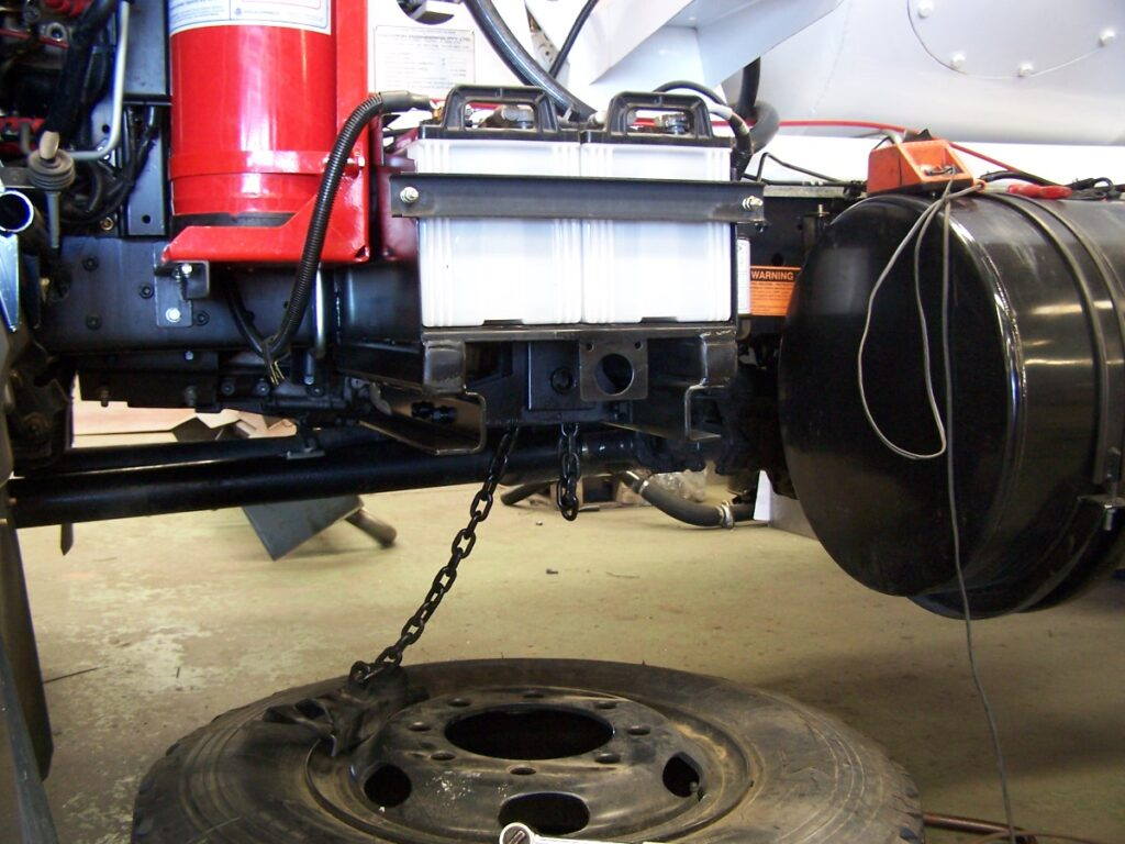 Truck Spare Wheel Carrier fitted to your truck by TL Engineering in Perth WA