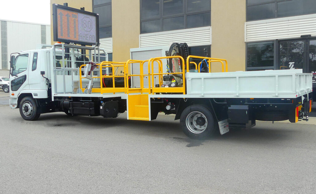 Truck Accessories - Safety Rails by TL Engineering in Perth WA