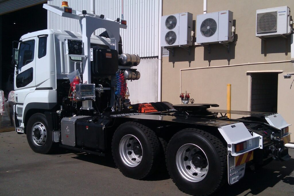 New prime mover truck upgrade in Perth by TL Engineering.