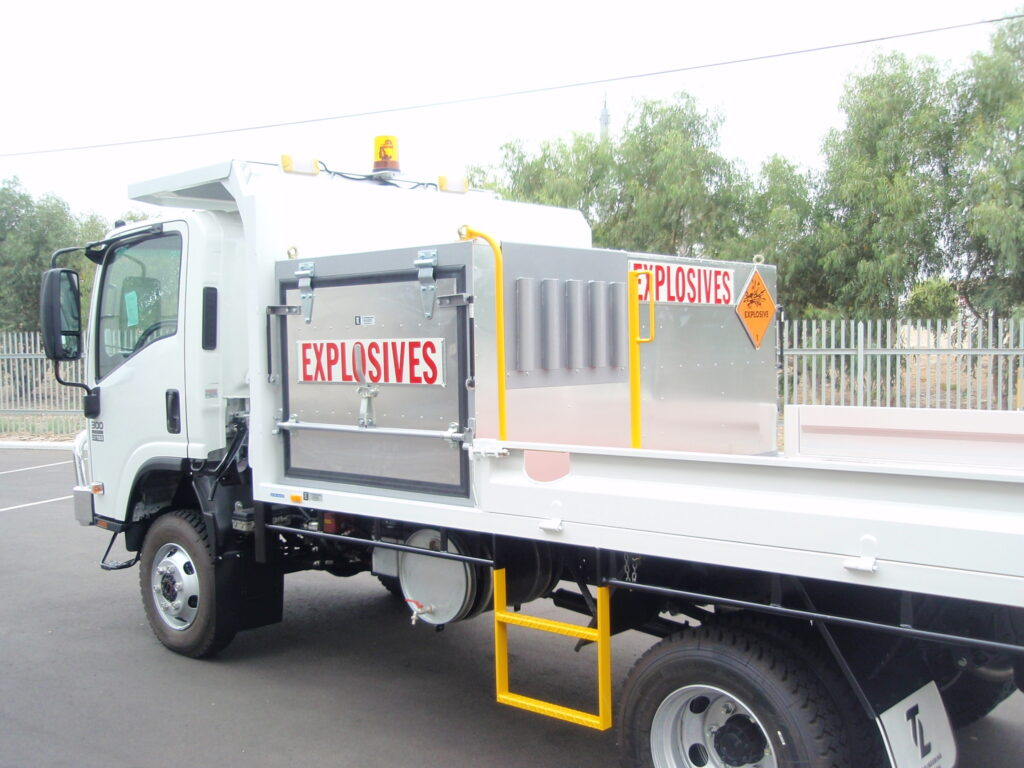 Truck Explosive Box by TL Engineering Perth WA