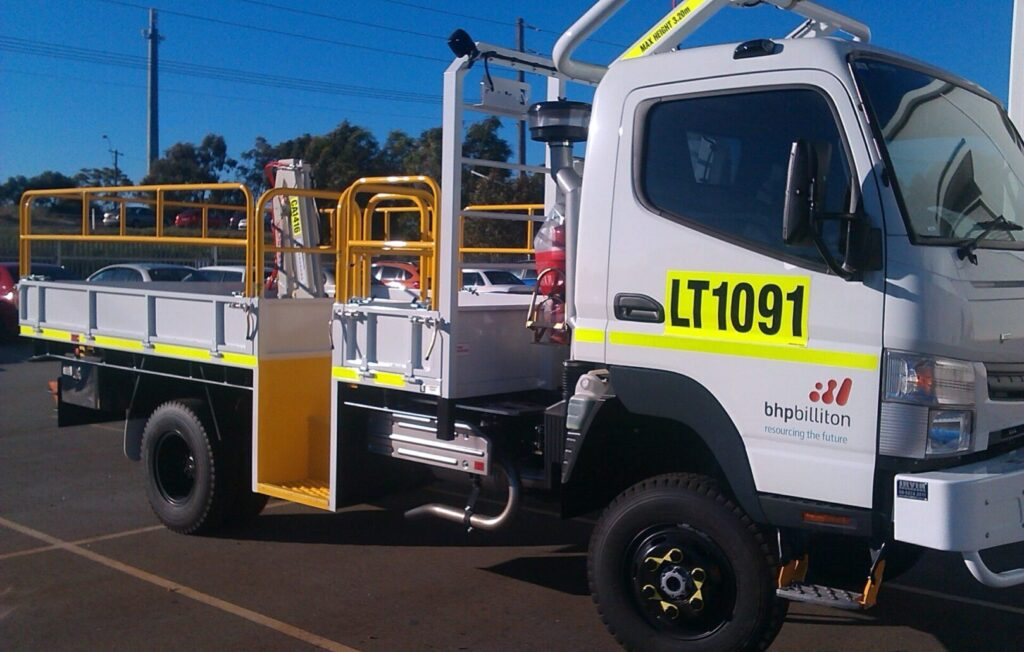 New truck tray made and fitted in Perth WA