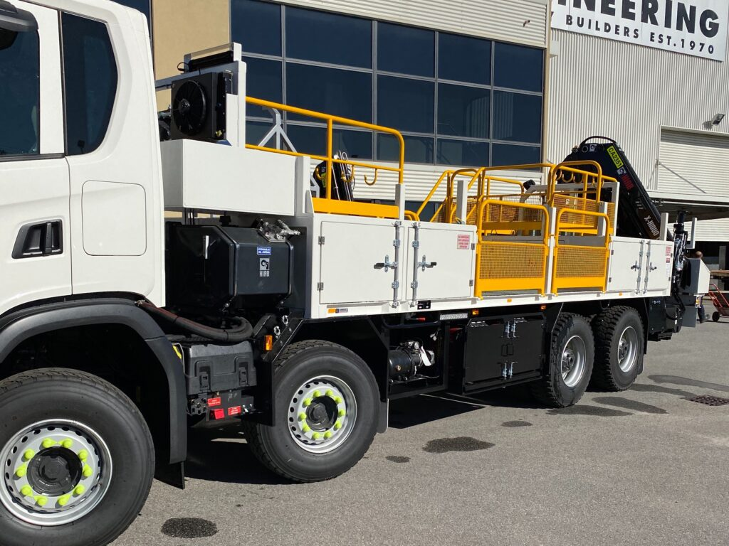 Truck Cabinet Accessories by TL Engineering Perth WA