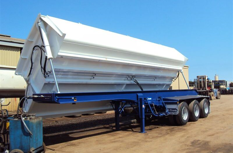 New steel or Hardox steel tray side tippers made/fitted in Perth by TL Engineering
