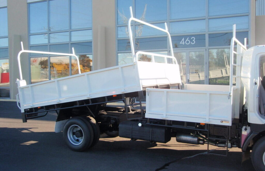 Tipper Truck with steel or Hardox steel tray made by TL Engineering in Perth WA