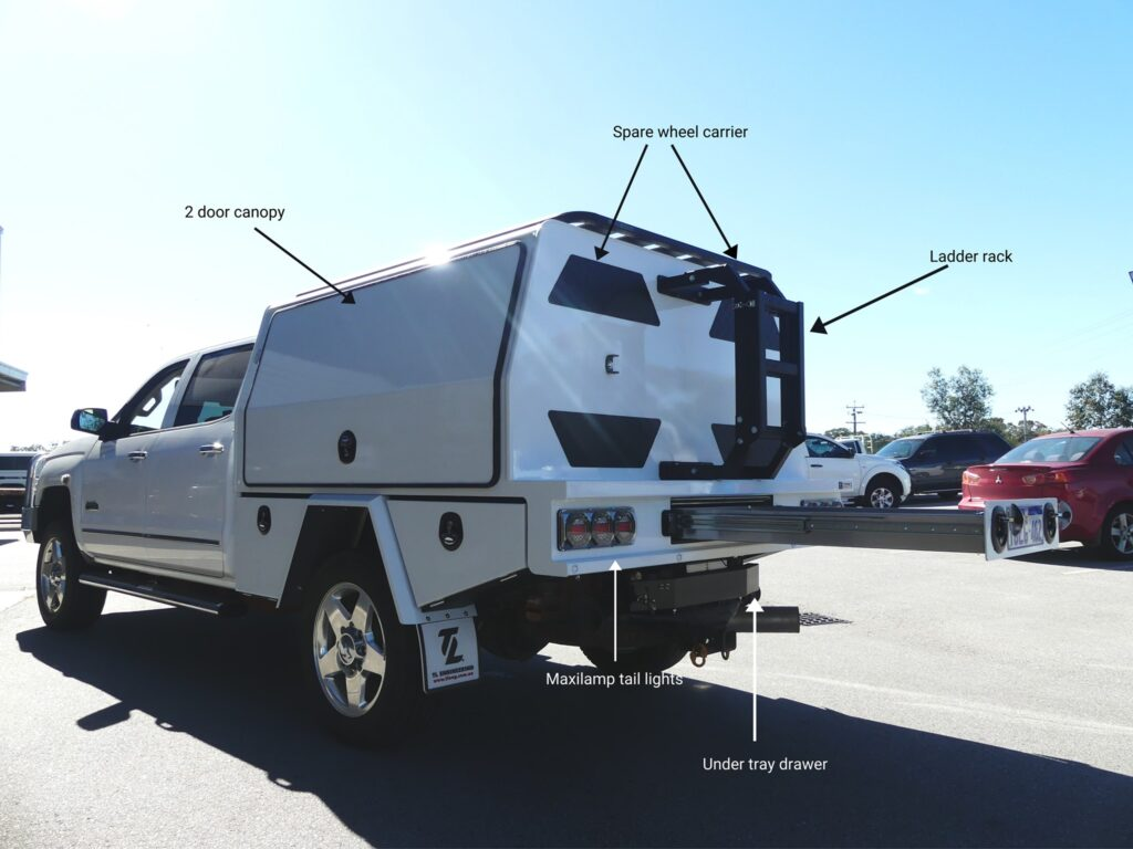 Under Tray Toolbox for Ute Tray by TL Engineering Perth WA -