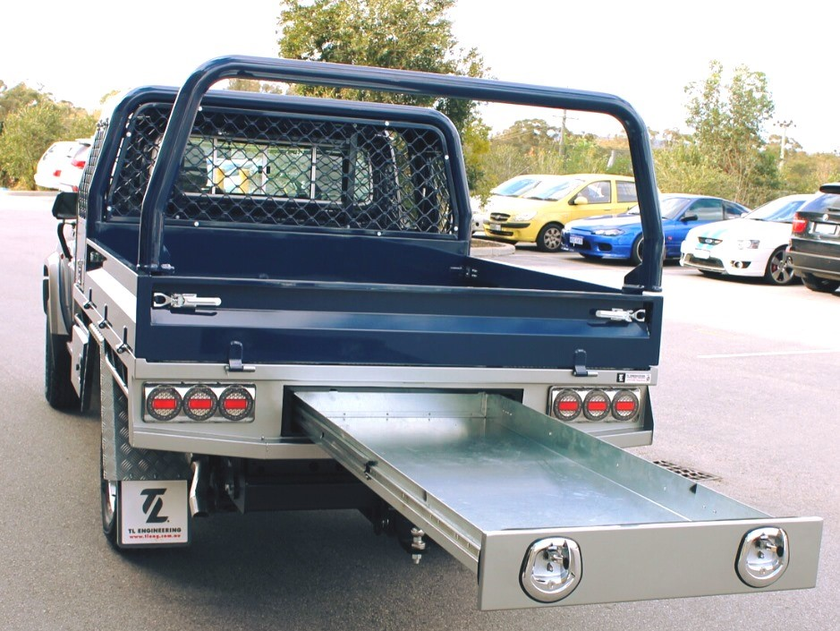 Under Tray Toolbox for Ute Tray by TL Engineering Perth WA