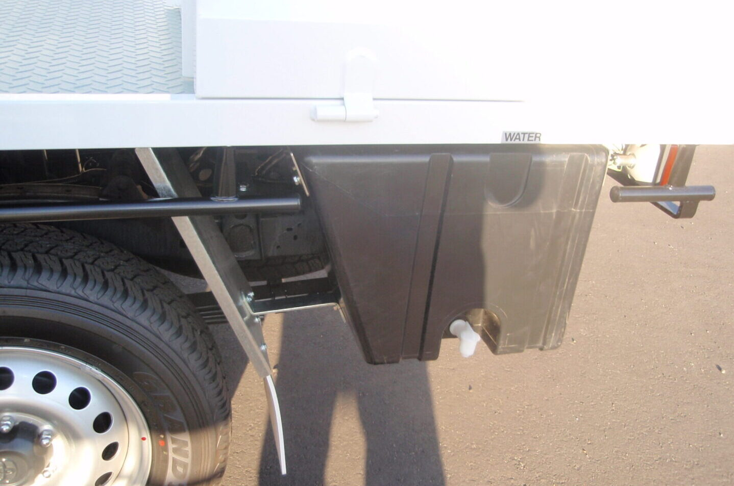 Water Tanks by TL Engineering in Perth for Truck builds