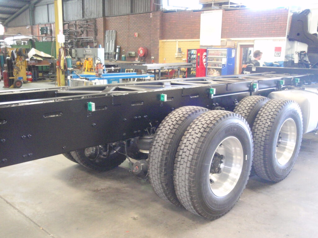 New truck subframe upgrade/modifications by TL Engineering Perth WA
