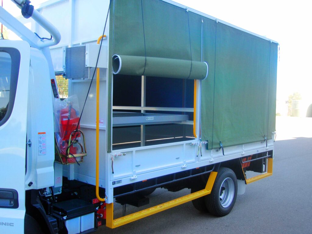 Buy custom made Heavy Duty, High Quality, Truck Canopies fitted to trucks in Perth WA