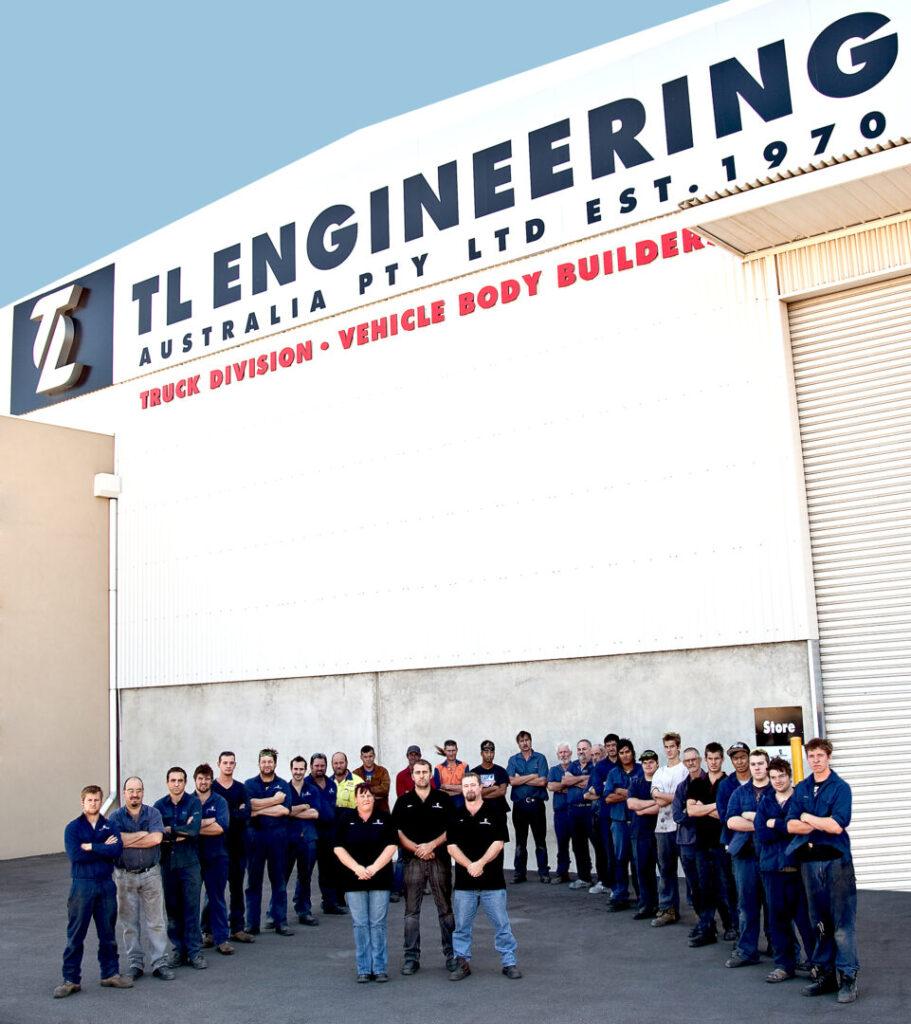 TL Truck engineering company staff Perth Western Australia.