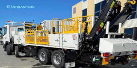 Truck accessory spare parts and truck upgrade service Perth WA.